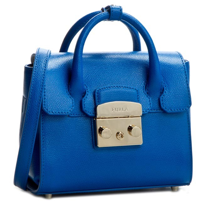 Handbag FURLA - Metropolis 820654 B BGX6 ARE Blu Laguna