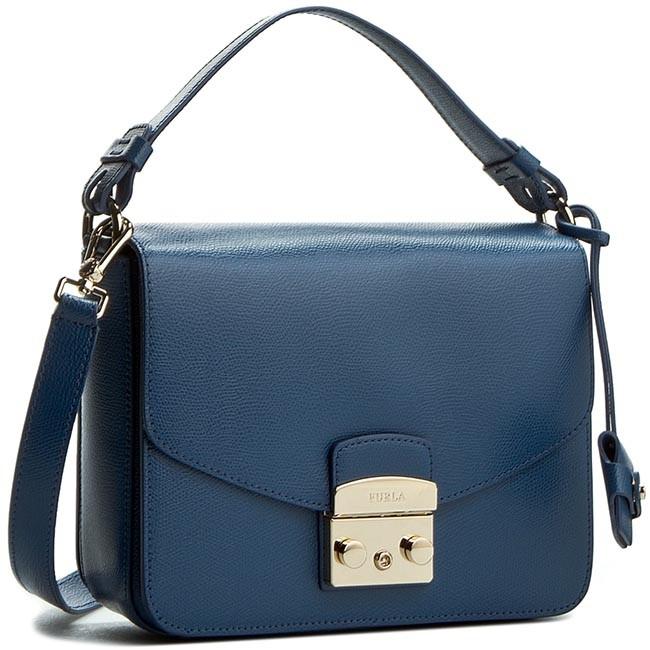 Handbag FURLA - Metropolis 820727 B BHD2 ARE  Blu Cobalto