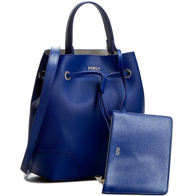 Handbag FURLA - Stacy 825322 B BEH3 B30 Blu Laguna