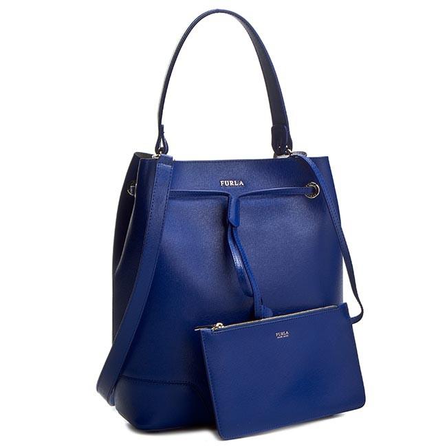 Handbag FURLA - Stacy 825325 B BGT7 B30 Blu Laguna