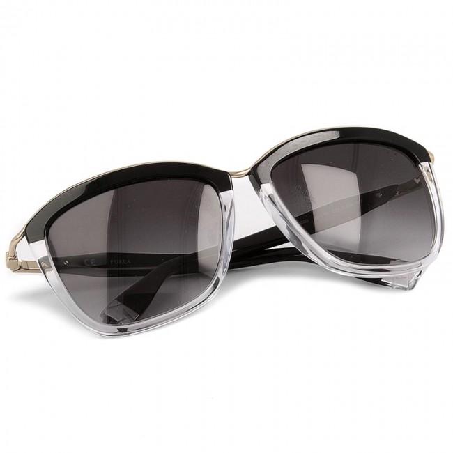Sunglasses FURLA - Athena 849249 D SF35 REM Onyx/Crystal