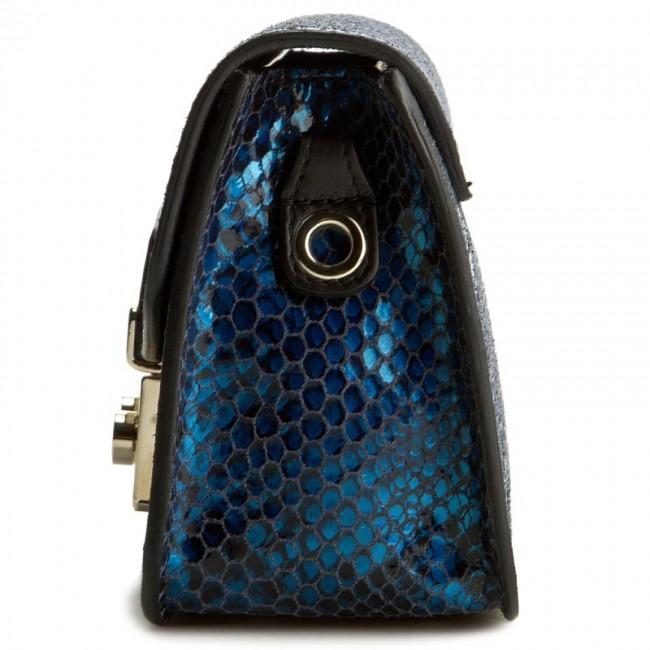 Metropolis 851546 Furla Bjm Metal Vpm 1 Blue B Handbag Py8vmONn0w