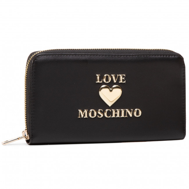 Large Women's Wallet LOVE MOSCHINO - JC5606PP0BLE0000  Nero