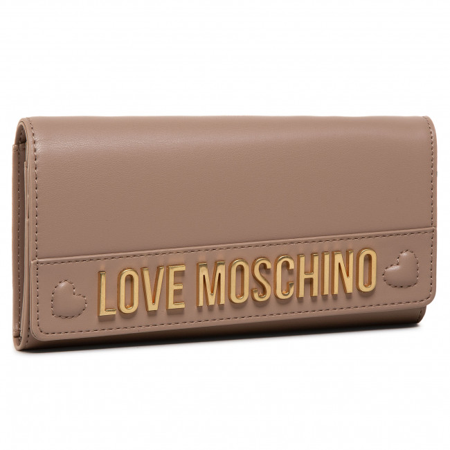 Large Women's Wallet LOVE MOSCHINO - JC5645PP0BKN0209  Taupe