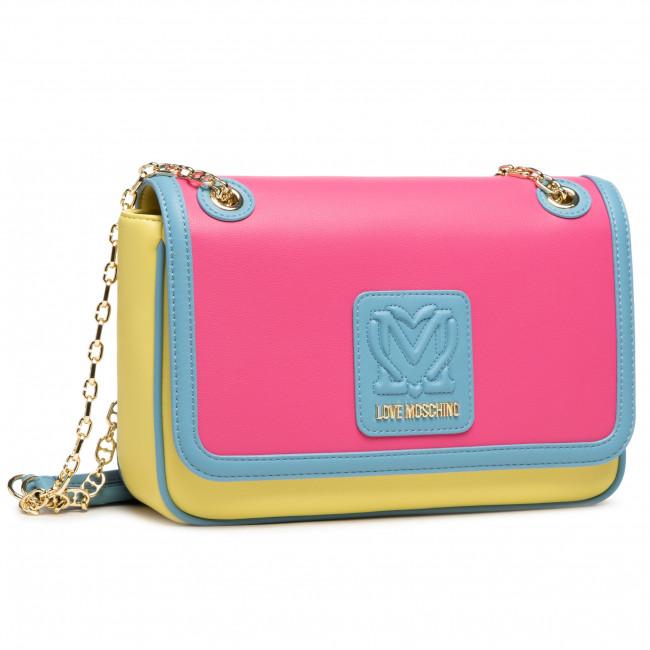 Handbag LOVE MOSCHINO - JC4111PP1CLK160A Fuxia/Giallo/Azzurro