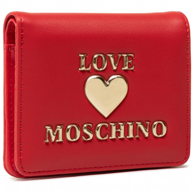 Small Women's Wallet LOVE MOSCHINO - JC5625PP1CLF0500  Rosso