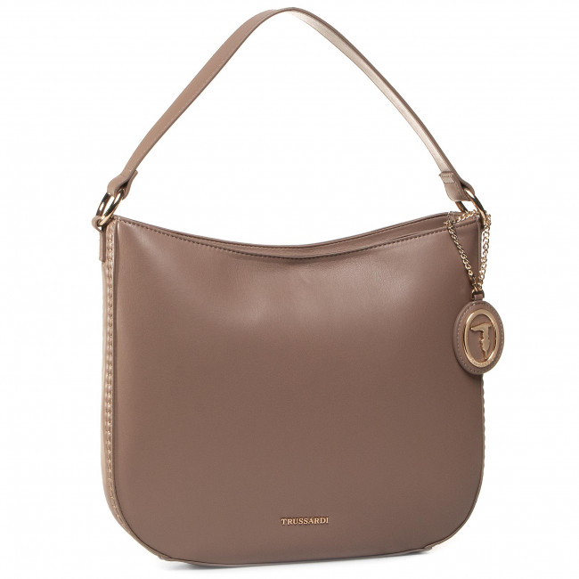 Handbag TRUSSARDI JEANS - Tokyo Hobo Md 75B00998 Taupe B261
