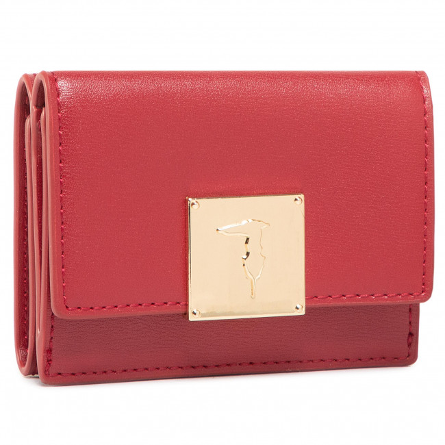 Small Women's Wallet TRUSSARDI JEANS - Lione Continental 75W00242 R280
