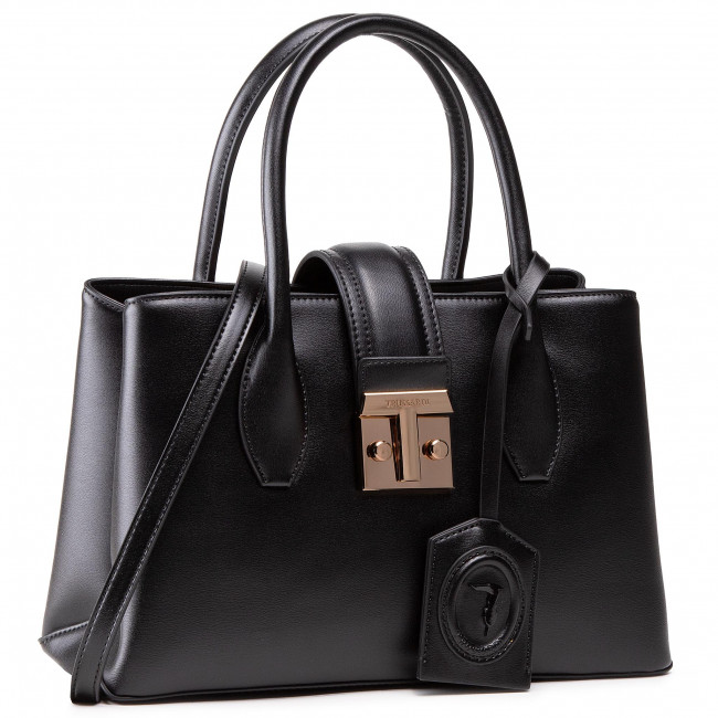 Handbag TRUSSARDI - Pre Tulip Tote Sm 75B01090 Black K299
