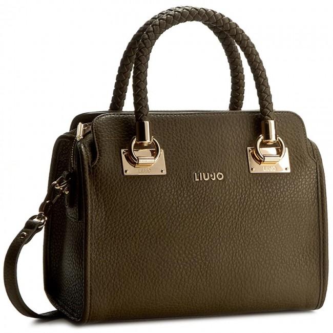 Super baratas más baratas hombre Handbag LIU JO - Bauletto M New Anna N66084 E0011 Green Military ...