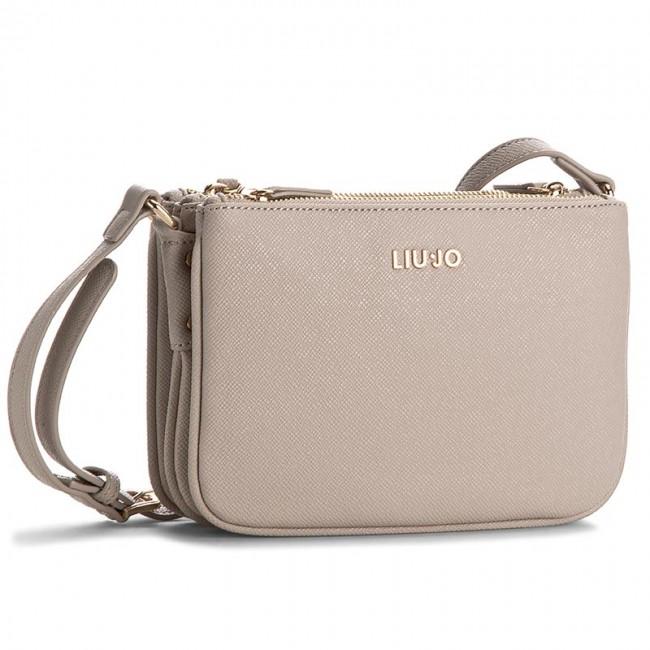 Handbag LIU JO - Busta Tripla Anna N17086 E0087 Tortora Chiaro 09H30