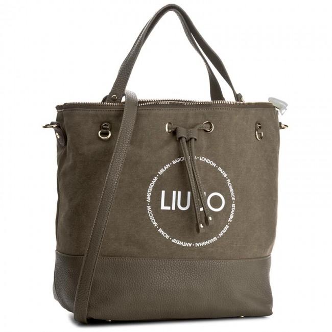 Handbag LIU JO - Sechiello Poppa Ca N17055 T7114 Militare 90618