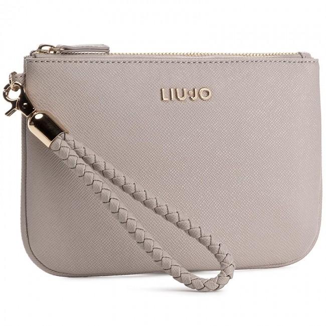 Handbag LIU JO - Busta Anna N17087 E0087  Tortora Chiaro 09H30