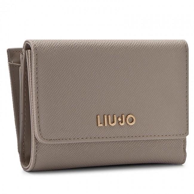 Large Women's Wallet LIU JO - Portafoglio Medio C N17127 E0087 Tortora Chiaro 09H30