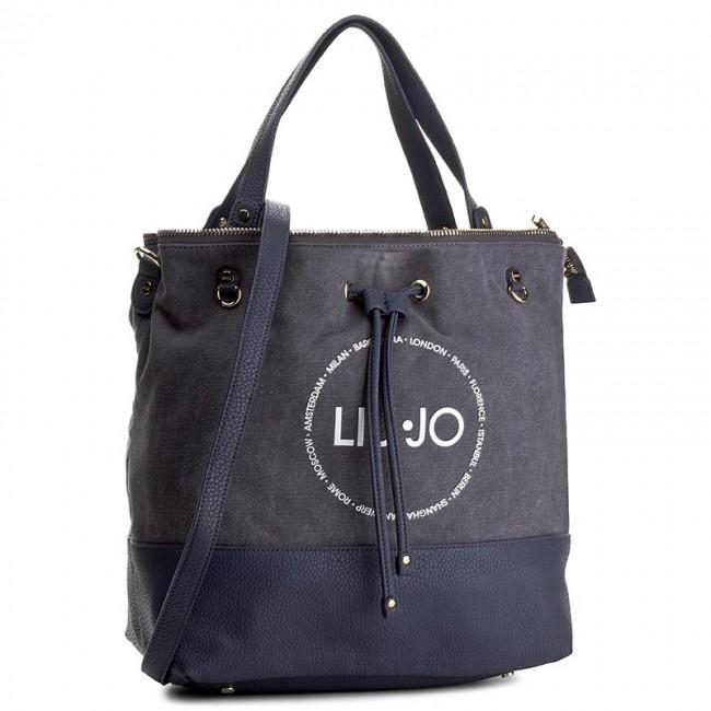 Handbag LIU JO - Secchiello Poppa Ca N17055 T7114  73911 Silver Filigree