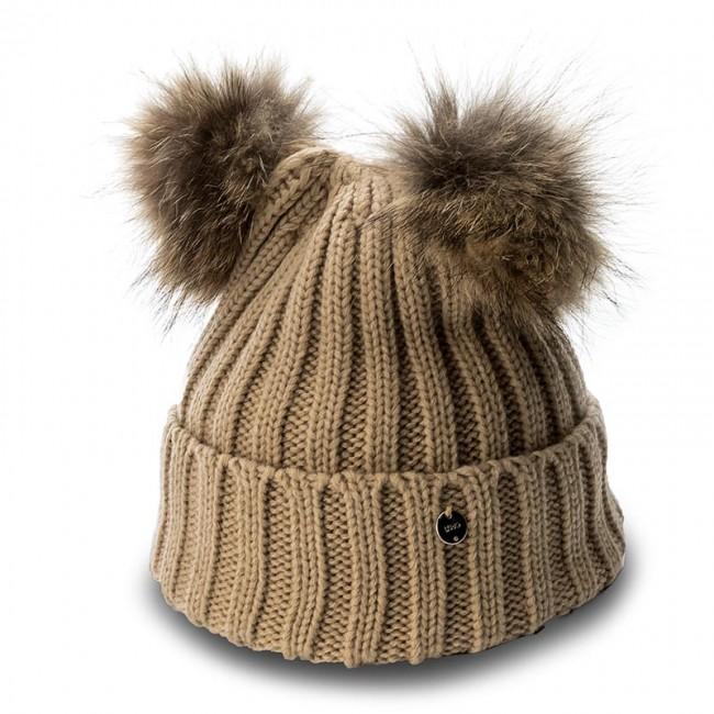 dal costo ragionevole prezzi qualità autentica Women's Cap LIU JO - Cappello Due Ponpon N67285 M0300 Biscuit 61320