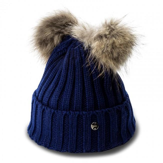 on sale a92cd a3c26 Cap LIU JO - Cappello Due Ponpon N67285 M0300 Royal 93939