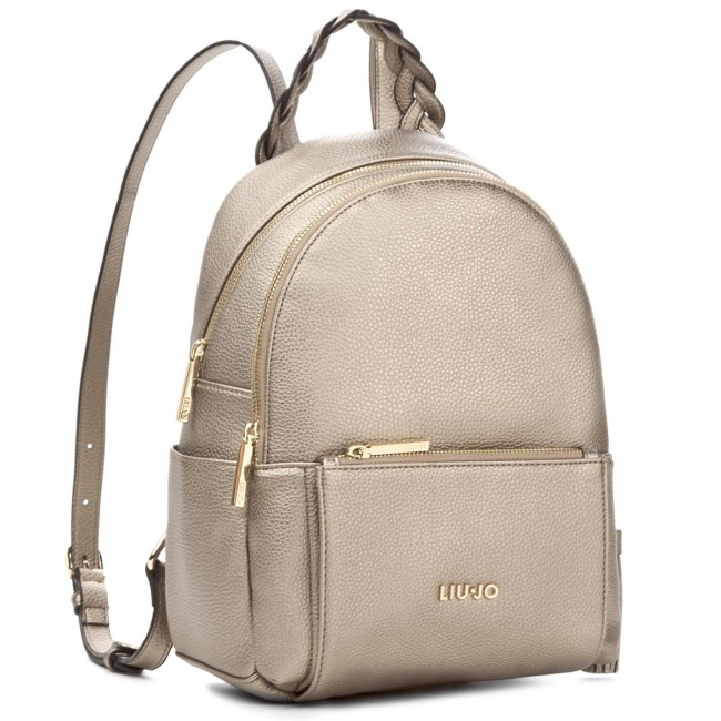 Complicado Representación Mayor  Backpack LIU JO - M Backpack Arizona A18052 E0086 Gold 00529 - Backpacks -  Handbags | efootwear.eu