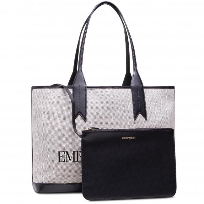 Handbag EMPORIO ARMANI - Y3D081 Y266A 85265  Bianco/Nero/Nero/Ecr