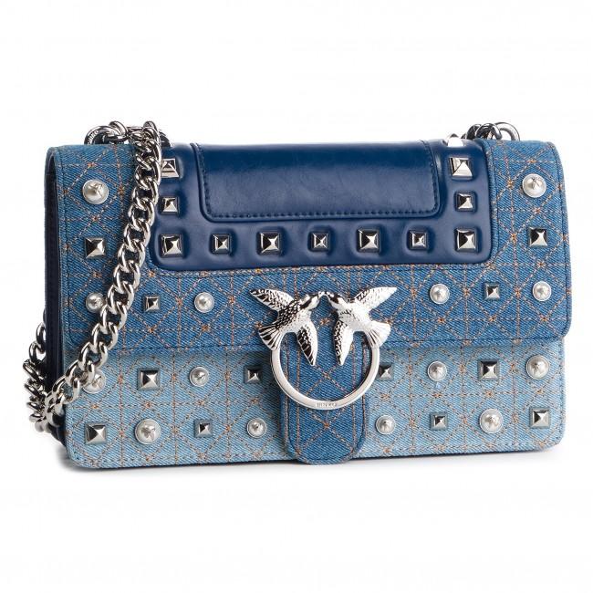 best sneakers 3e961 f8b26 Handbag PINKO - Love Jeans Tracolla PE 19 PLTT 1P21BM Y5F7 Light Blue E73