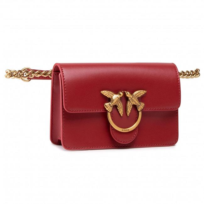 Handbag PINKO - Love Baby Icon Simply Cl AI 20-21 PLTT 1P21SC Y6JC Ruby Red R72