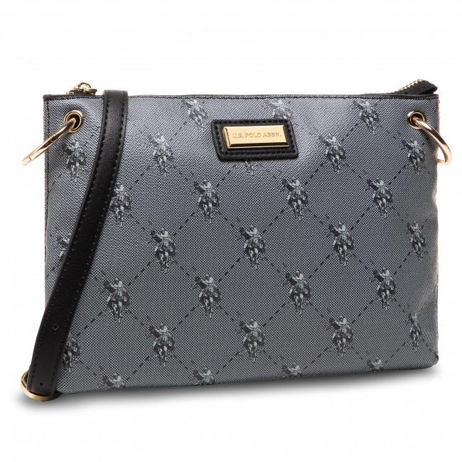 Handbag U.S. POLO ASSN. - Hampton Flat Crossb. Bag BIUHD4888WVG000  Black