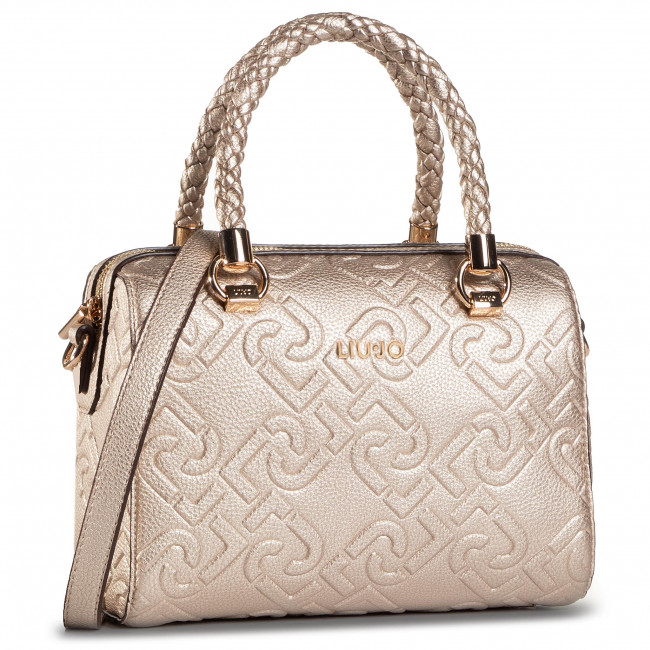 Handbag LIU JO - S Satchel NF0021 E0538 Light Gold 90048