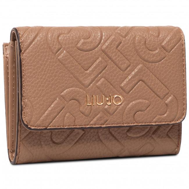 Small Women's Wallet LIU JO - M Trifold NF0116 E0538 Indian Tan 71328
