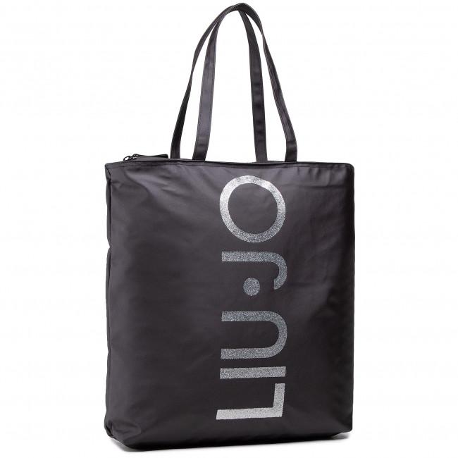 Handbag LIU JO - Shopping Stampa 2A1005 T0300 Nero 22222