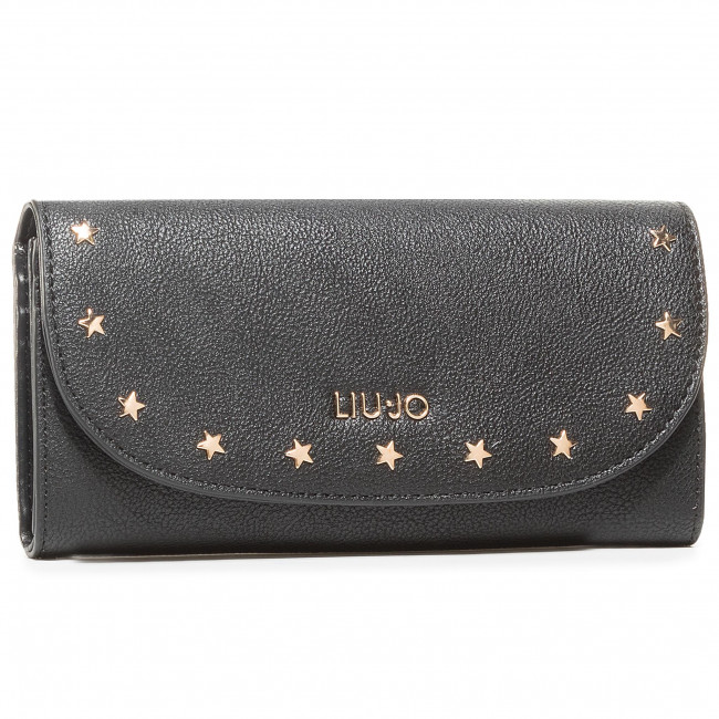 Large Women's Wallet LIU JO - Spig NF0048 E0033 Nero 22222