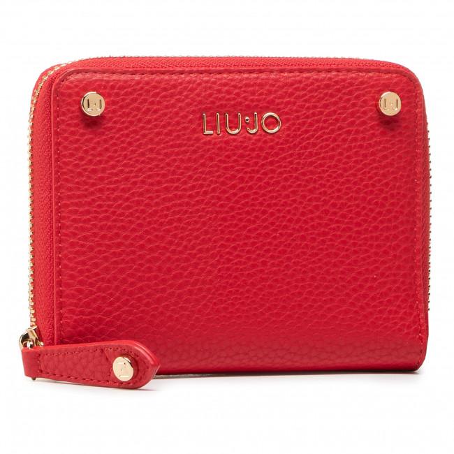 Large Women's Wallet LIU JO - M Zip Around AA1110 E0027 True Red 91664