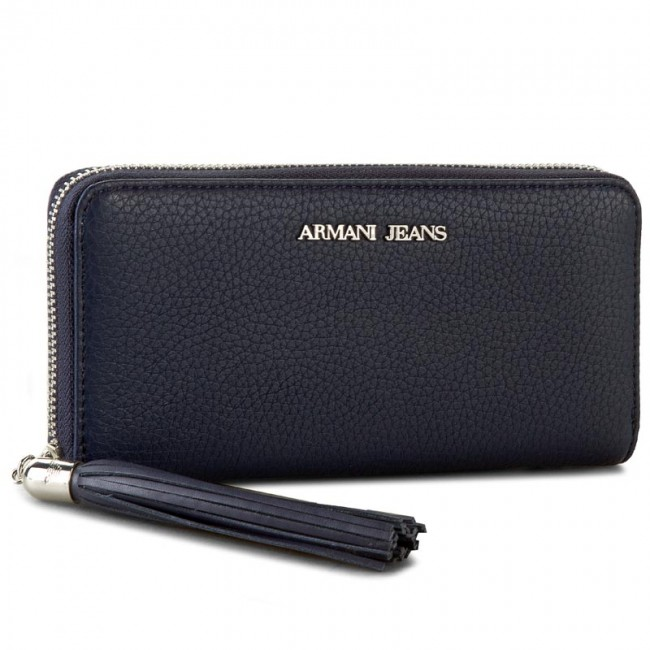40f8cdd1 Large Women's Wallet ARMANI JEANS - C5V66 Q9 G8 Blue