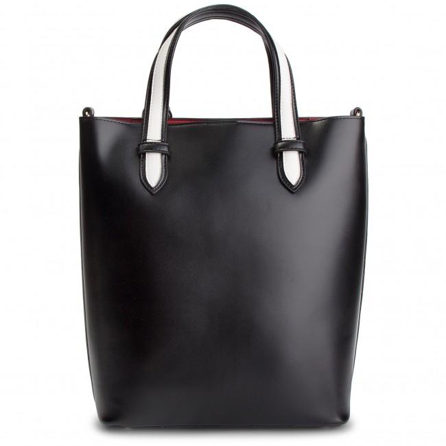 Handbag SILVIAN HEACH Shopper Bag Luisa RCP19018BO BlackWhite W0236