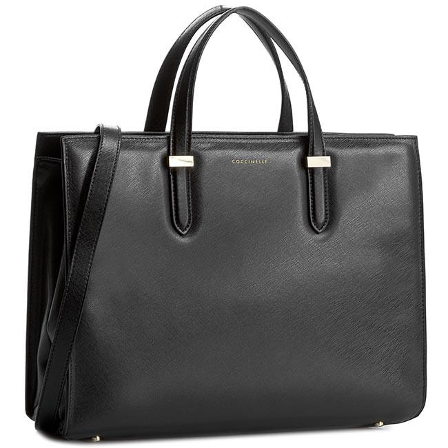 Handbag COCCINELLE - VR5 Work C1 VR5 18 01 01 Nero 001