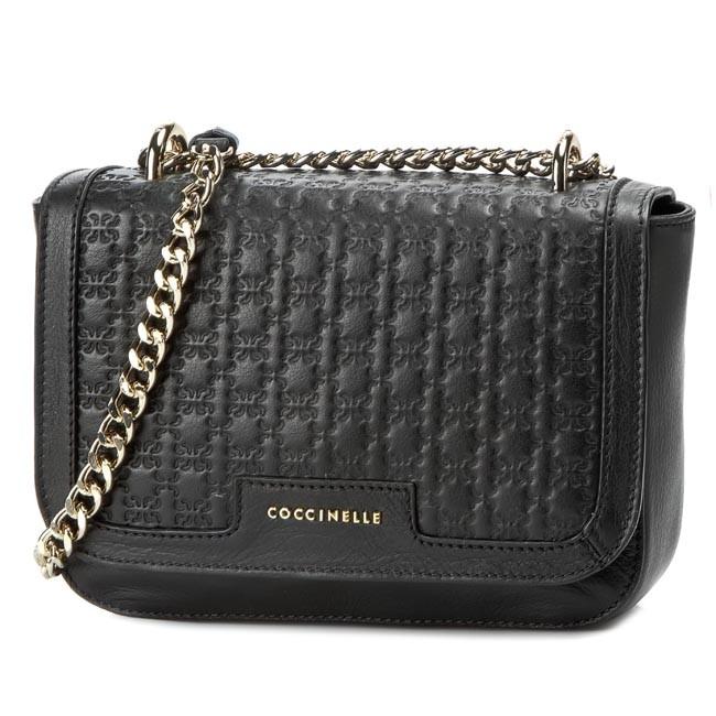 Handbag COCCINELLE - VS1 Amelie Logo C1 VS1 12 01 02 Nero 001