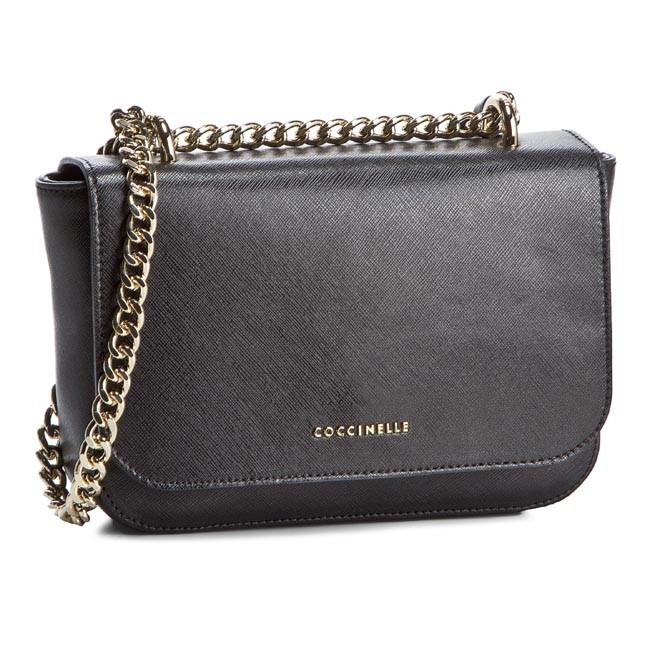 Handbag COCCINELLE - VS0 Amelie C1 VS0 12 01 01 Nero