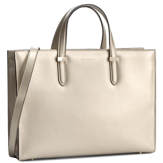Handbag COCCINELLE - VR5 Work C1 VR5 18 01 01 Platino 049