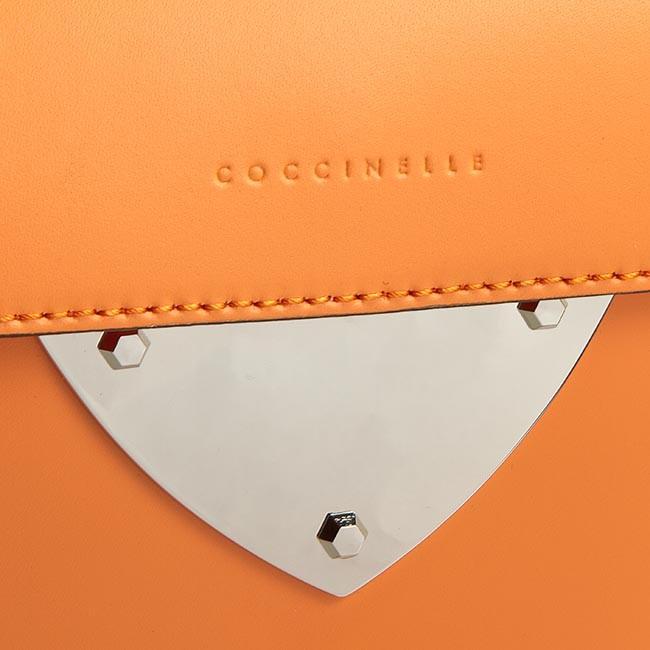handbag coccinelle wv3 minibag c5 wv3 15 77 14 arancio classic handbags. Black Bedroom Furniture Sets. Home Design Ideas
