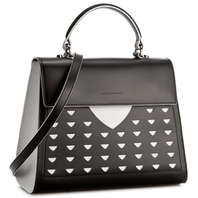 Handbag COCCINELLE - YJ6 B14 Light C1 YJ6 18 03 01 Nero/Bianco 803