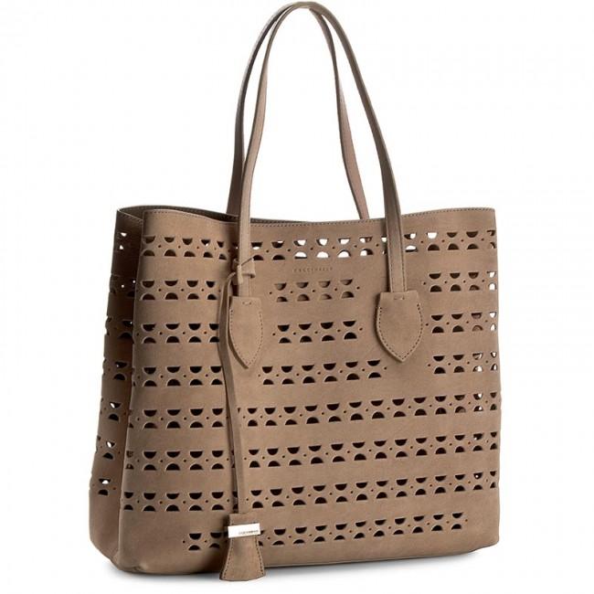 Handbag COCCINELLE - Y12 Celene Traforo Suede C1 YI2 11 01 01 Degas/Taupe 882