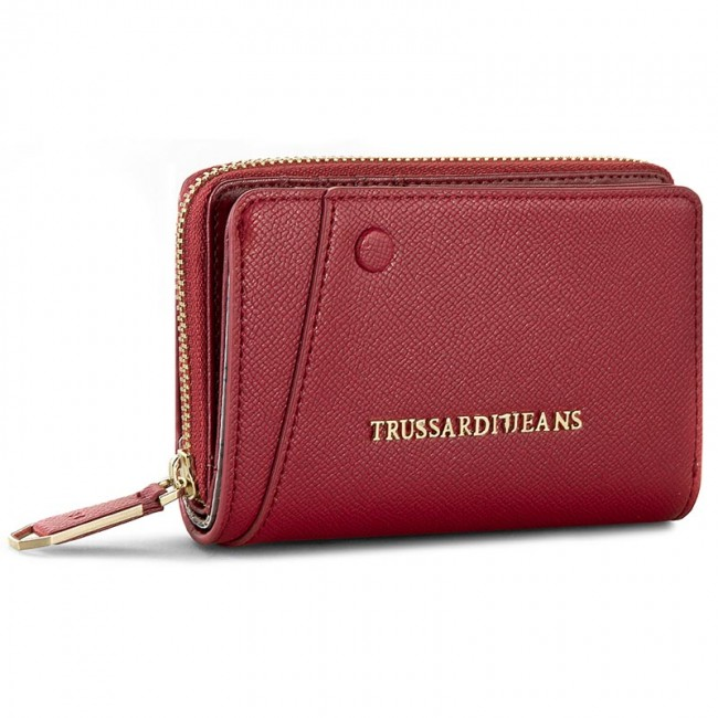 Large Women's Wallet TRUSSARDI JEANS - Montblanc Medium Zip 75P242 39