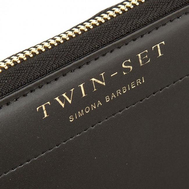 the latest 33630 9c1d7 Large Women's Wallet TWINSET - Portafoglio AA6P1B Nero 00006
