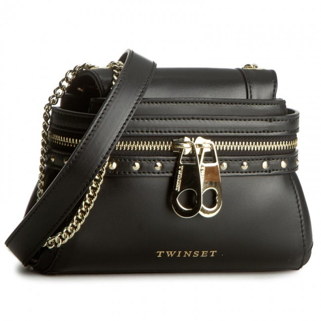 Handbag TWINSET Borsa AS7PW5 Nero 00006