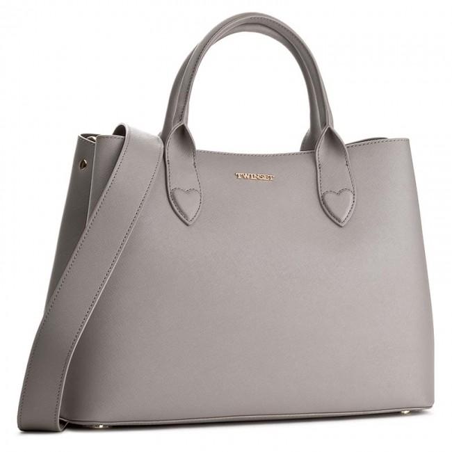 Handbag TWINSET - Shopping OA7TKB  Grigio 0022