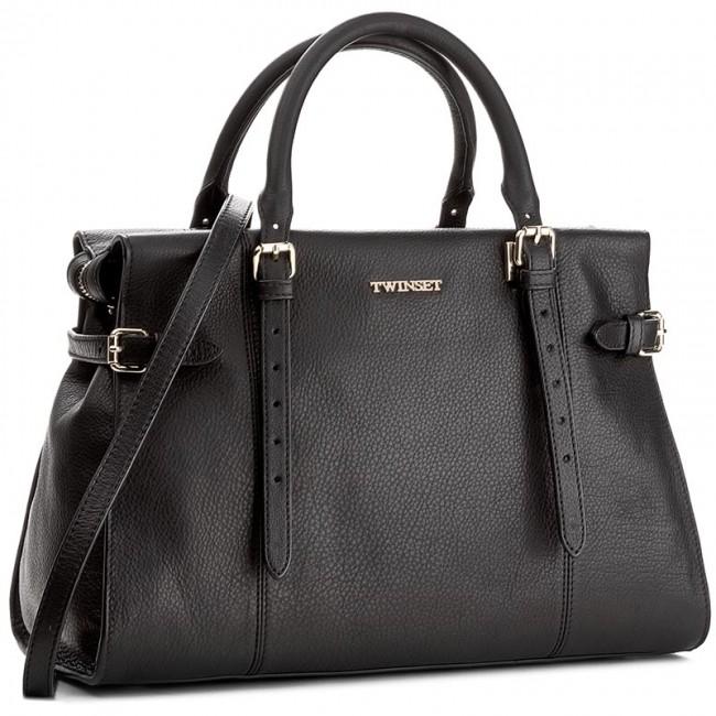 Handbag TWINSET - Tote Grande AA7PEA  Nero 00006