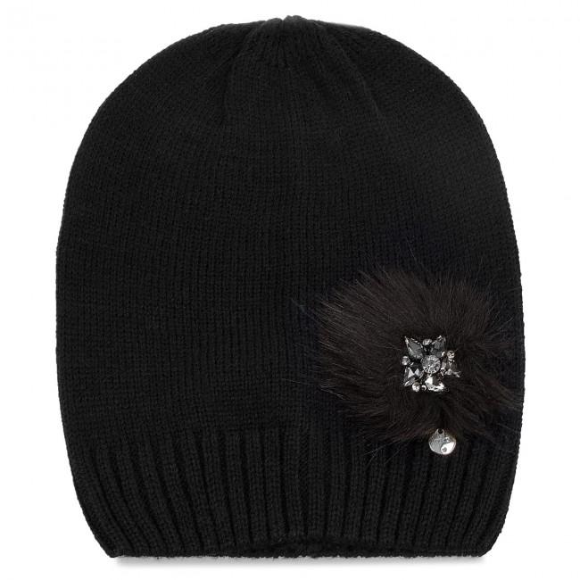quality design e7eb8 bb348 Cap LIU JO - Cappello Maglia Pon N68253 M0300 Nero 22222