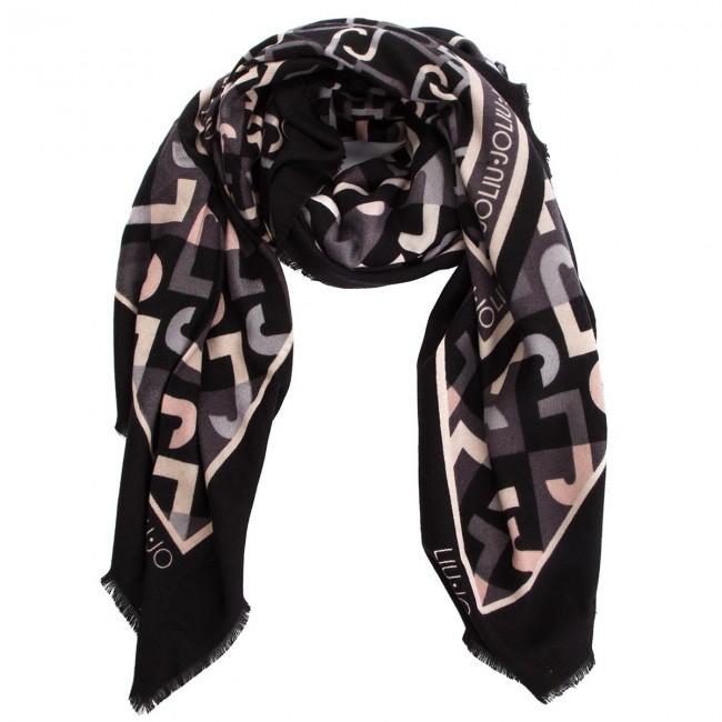foto ufficiali 51017 99529 Head-scarf LIU JO - Foulard Geometric L N68315 T0300 Nero 22222