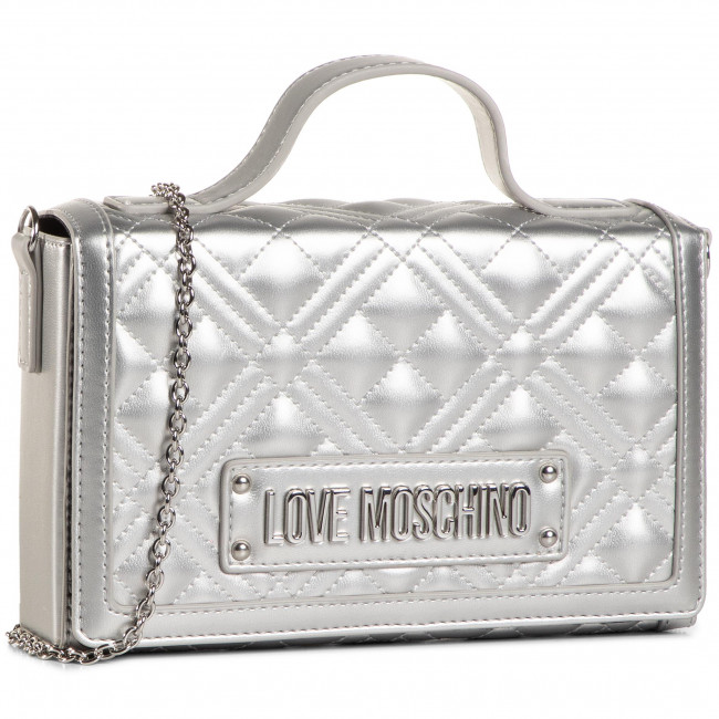 Handbag LOVE MOSCHINO - JC4305PP0BKA0902  Argento