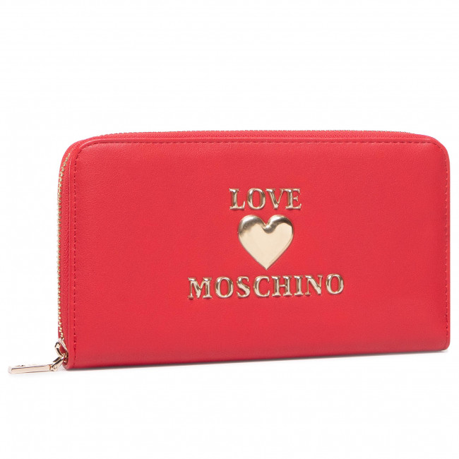 Large Women's Wallet LOVE MOSCHINO - JC5606PP1BLE0500 Rosso