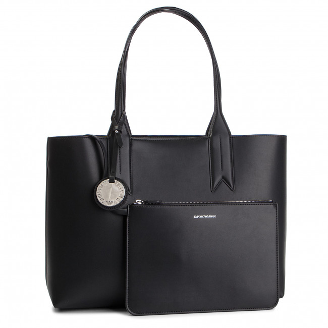 Handbag EMPORIO ARMANI - Y3D081 YGE7E 86100 Nero/Fango